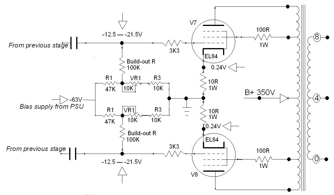 PP Fixed Bias circuit design and calculator   atrad-audio co nz